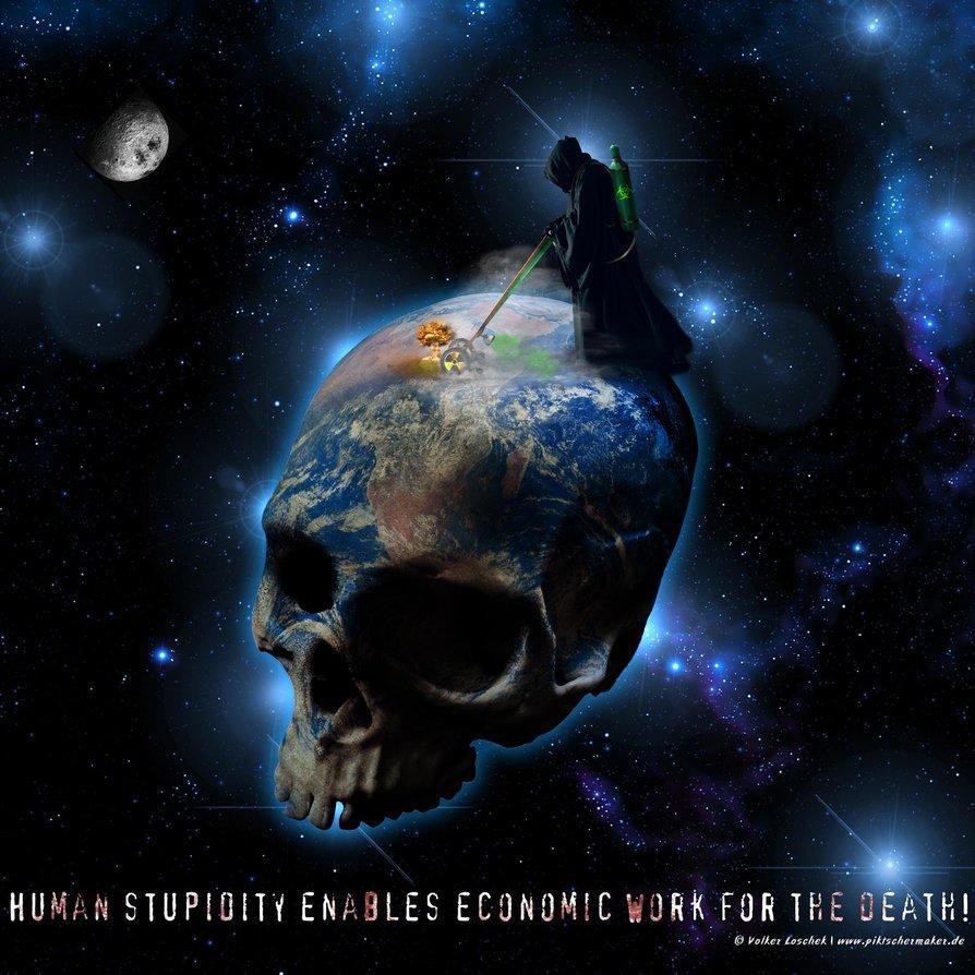 human stupidity     by blindguard d4rwvex Η Εξομολόγηση ενός οικονομικού δολοφόνου (βίντεο)