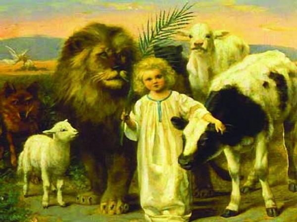 Οι Άγιοι και τα ζώα...