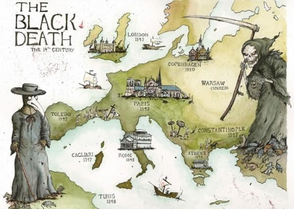 diaforetiko.gr : black death 600x428 Η επιστροφή της θανατηφόρας μεσαιωνικής πανούκλας δεν μπορεί να αποκλειστεί στο μέλλον, προειδοποιούν οι επιστήμονες