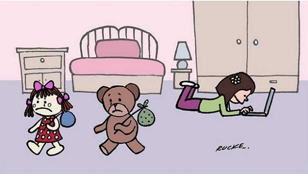 Image result for γελοιογραφίες προβληματισμού