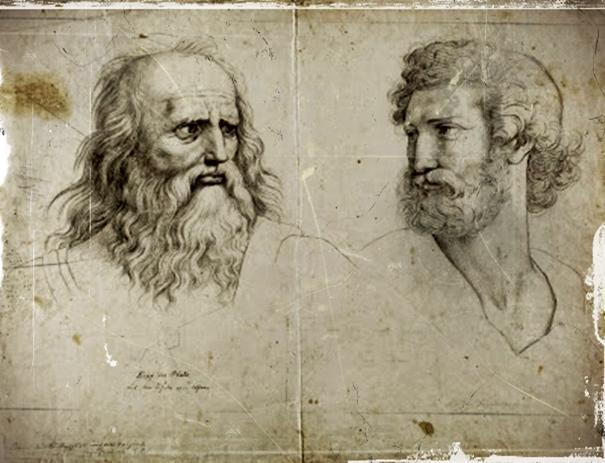 Αποτέλεσμα εικόνας για αριστοτέλησ και πλάτωνασ