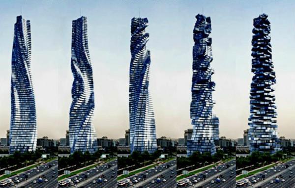 diaforetiko.gr : Rotating Tower Dubai7 600x383 To πρώτο κτίριο στον κόσμο που θα κινείται – Θα προσαρμόζεται στον ήλιο, στον άνεμο και τη θέα!