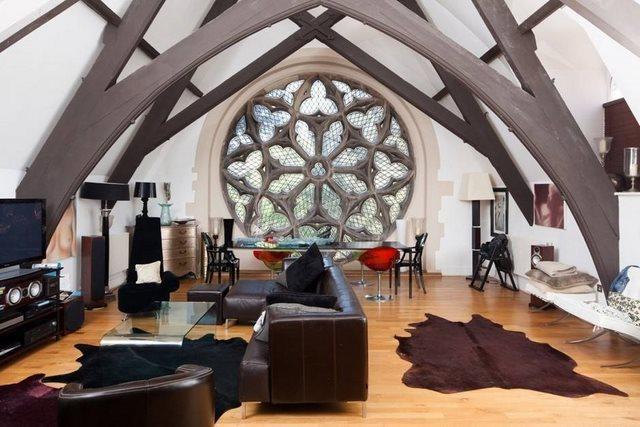 diaforetiko.gr : Converted cathedral1 20 από τα ομορφότερα σπίτια στον κόσμο