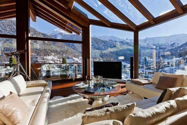 diaforetiko.gr : The Chalet Zermatt Peak in Switzerland1 20 από τα ομορφότερα σπίτια στον κόσμο