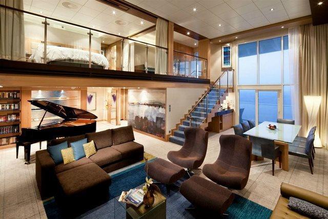 diaforetiko.gr : The Royal Loft Suite aboard the Oasis of the Seas1 20 από τα ομορφότερα σπίτια στον κόσμο