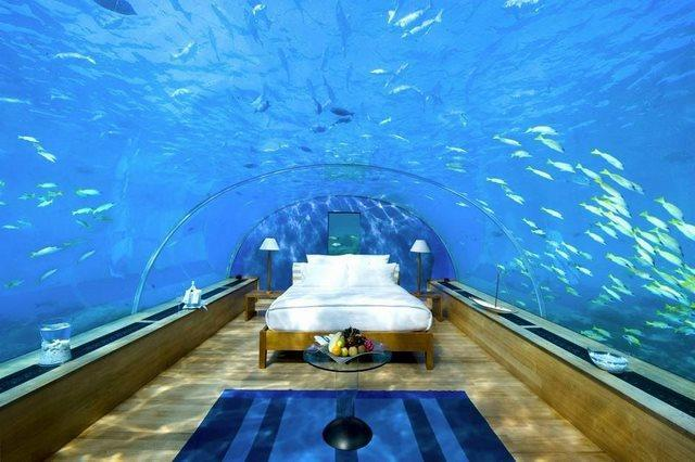 diaforetiko.gr : The Underwater bedroom in the Maldives1 20 από τα ομορφότερα σπίτια στον κόσμο