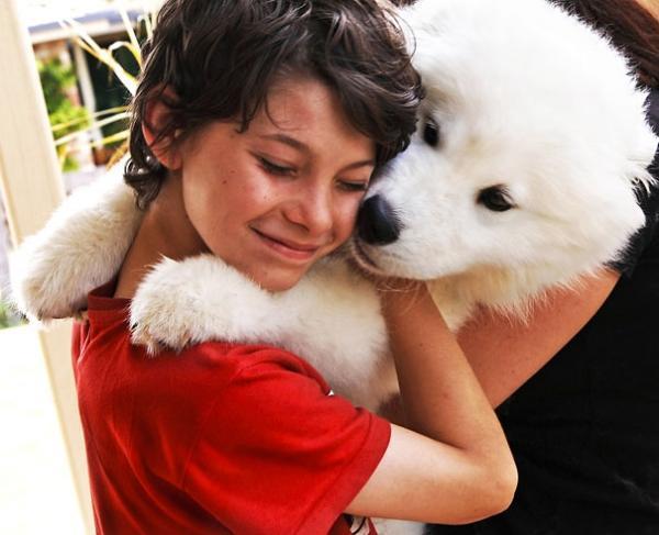diaforetiko.gr : 134 600x487 26 αξιολάτρευτα σκυλιά στην αγκαλιά του αφεντικού τους! Τρυφερές στιγμές…