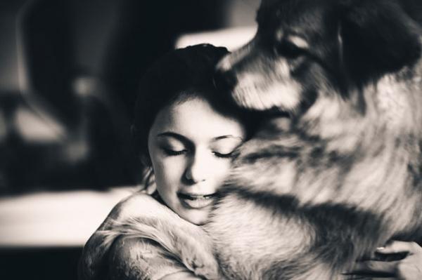 diaforetiko.gr : 77 600x399 26 αξιολάτρευτα σκυλιά στην αγκαλιά του αφεντικού τους! Τρυφερές στιγμές…