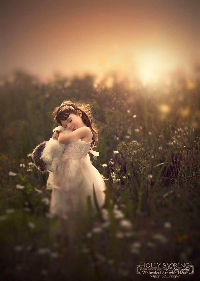 diaforetiko.gr : children photography holly spring 15 Μητέρα φωτογραφίζει τη μονόχειρα κόρη της και μας εμπνέει…