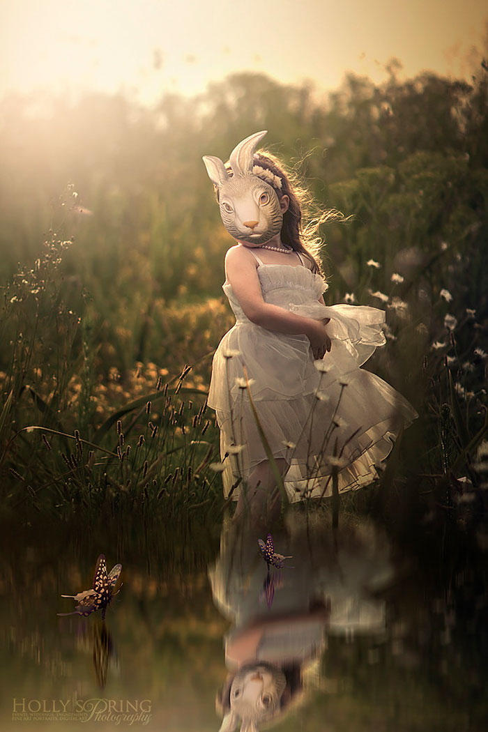 diaforetiko.gr : children photography holly spring 21 Μητέρα φωτογραφίζει τη μονόχειρα κόρη της και μας εμπνέει…