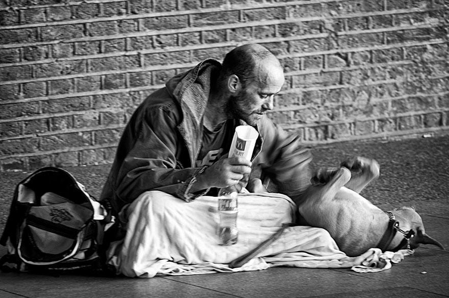diaforetiko.gr : homeless dogs and owners 11 Φωτογραφίες που αποδεικνύουν πως τα σκυλιά σε αγαπούν όσο φτωχός κι αν είσαι