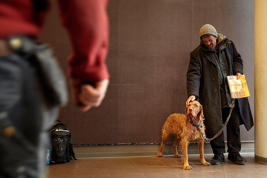 diaforetiko.gr : homeless dogs and owners 8 Φωτογραφίες που αποδεικνύουν πως τα σκυλιά σε αγαπούν όσο φτωχός κι αν είσαι