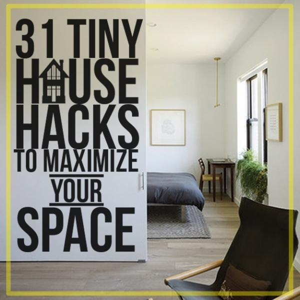 31 for How to maximize space in a small room