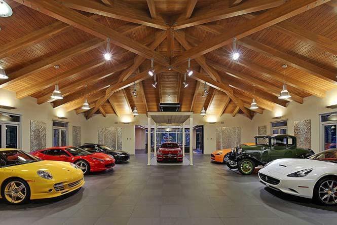diaforetiko.gr : to spiti twn oneirwn kathe latri autokinitwn 03 Αυτό είναι το σπίτι των ονείρων κάθε λάτρη των αυτοκινήτων! Περιμένετε τα δείτε το εσωτερικό του θα καταλάβετε γιατί…