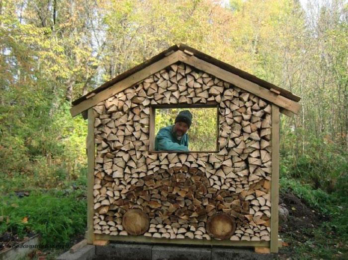 diaforetiko.gr : wood pile art 10 Σωροί από καυσόξυλα μετατρέπονται σε.. έργα τέχνης! Όταν η δημιουργικότητα παντρεύεται με την έμπνευση…