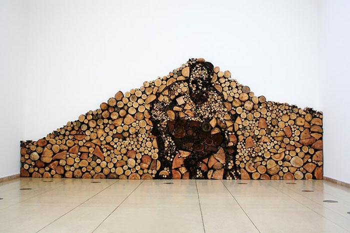 diaforetiko.gr : wood pile art 9 Σωροί από καυσόξυλα μετατρέπονται σε.. έργα τέχνης! Όταν η δημιουργικότητα παντρεύεται με την έμπνευση…