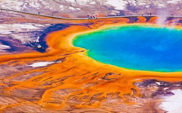 diaforetiko.gr : xroma3 Τοποθεσίες στον πλανήτη με εκπληκτικά χρώματα! Το θαύμα της φύσης στα καλύτερα του…