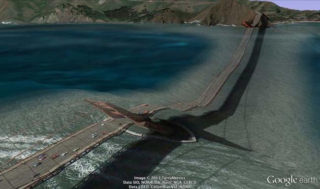 tilestwra.gr : desktop 1412354766 Αν οι δρόμοι έμοιαζαν έστω και λίγο με τις φωτογραφίες τους στο Google Earth, θα το σκεφτόσασταν πολύ να οδηγήσετε ξανά !!!