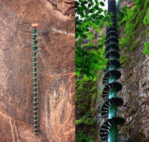 tilestwra.gr : f10 stairs Οι 10 πιο τρομακτικές σκάλες του κόσμου! Για να τις περπατήσεις θα πρέπει να το λέει η καρδιά σου