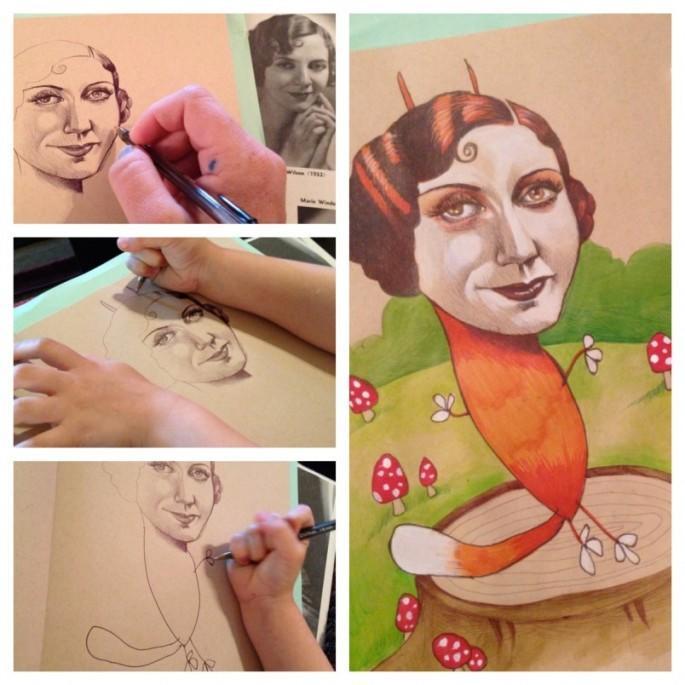diaforetiko.gr : mikri zografos4 Όταν αυτό το 4χρονο κοριτσάκι ζωγράφιζε η μητέρα της δεν φανταζόταν τι θα ακολουθούσε…