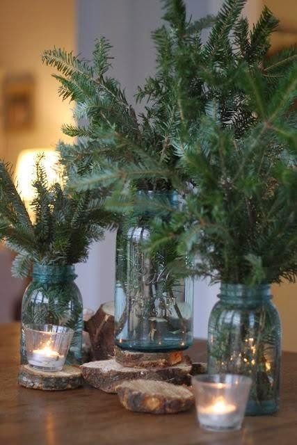 diaforetiko.gr : diy xristougeniatikes idees me adeia vaza20 35 Χριστουγεννιάτικες κατασκευές απο άδεια γυάλινα βάζα!