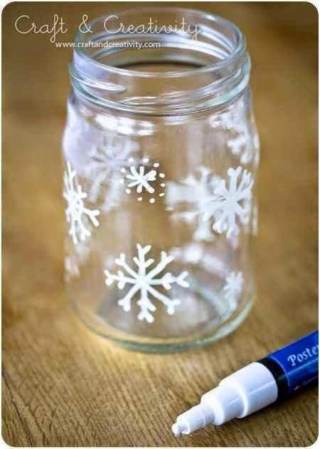 diaforetiko.gr : diy xristougeniatikes idees me adeia vaza24 35 Χριστουγεννιάτικες κατασκευές απο άδεια γυάλινα βάζα!