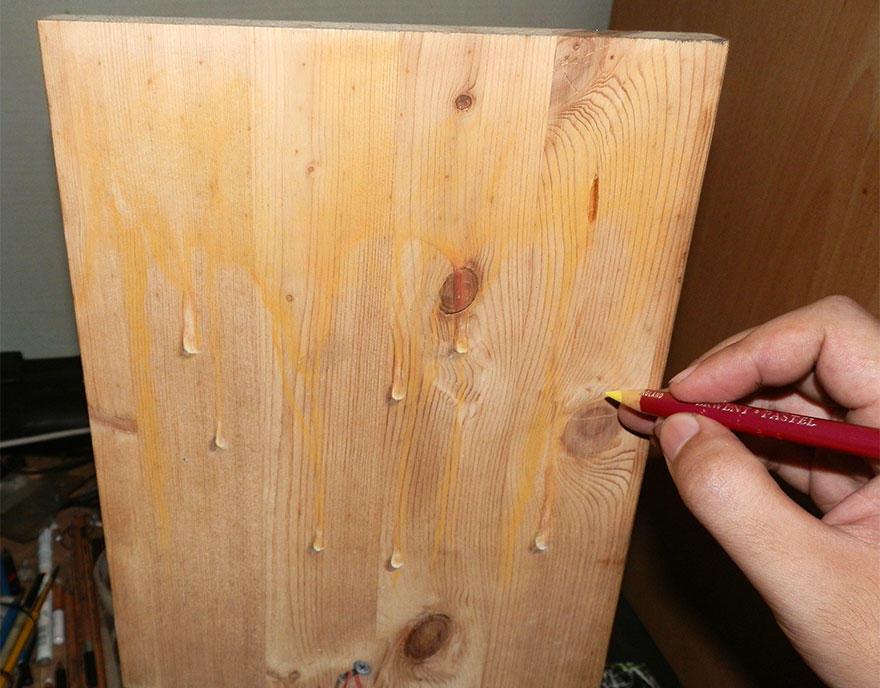 diaforetiko.gr : photorealistic drawing wood ivan hoo 16 Νομίζετε πως βλέπετε τη φωτογραφία ενός σκύλου;;; Για προσέξτε πιο καλά!