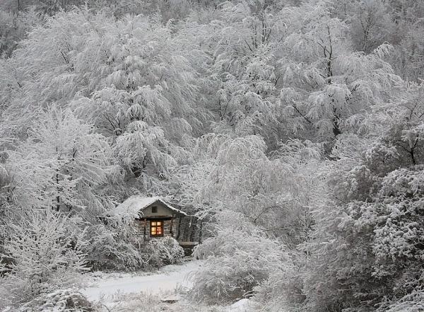 diaforetiko.gr : 1143 600x441 20 μοναχικά μικροσκοπικά σπίτια παραδομένα στη μαγεία του χειμώνα.