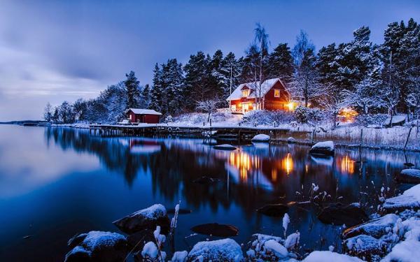 diaforetiko.gr : 533 600x375 20 μοναχικά μικροσκοπικά σπίτια παραδομένα στη μαγεία του χειμώνα.