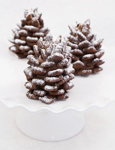 diaforetiko.gr : 83080 185735 Χριστουγεννιάτικα σοκολατένια κουκουνάρια! Έρχονται γιορτές, ετοιμάστε γλυκά!