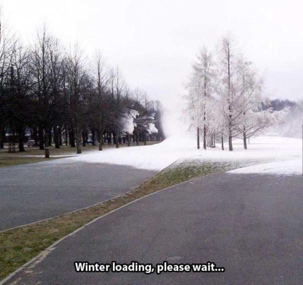 Ξέρεις ότι κάνει πολύ κρύο, όταν... (19)