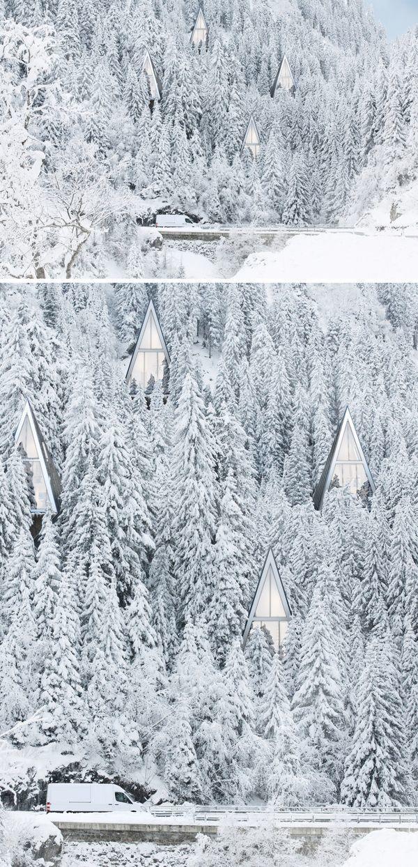 diaforetiko.gr : 1122 20 μαγευτικές φωτογραφίες από σπίτια που τα κάλυψε το χιόνι.