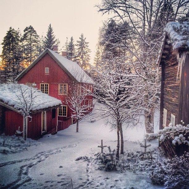 diaforetiko.gr : 1313 20 μαγευτικές φωτογραφίες από σπίτια που τα κάλυψε το χιόνι.
