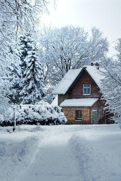 diaforetiko.gr : 194 20 μαγευτικές φωτογραφίες από σπίτια που τα κάλυψε το χιόνι.