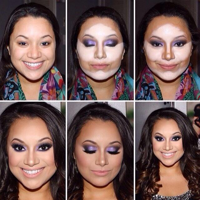 diaforetiko.gr : fl  easy face contouring tutorial makeup contouring tutorial  Η τέχνη του μακιγιάζ !Δείτε βήμα βήμα πως μπορείτε να μεταμορφωθειτε μόνες σας!!!