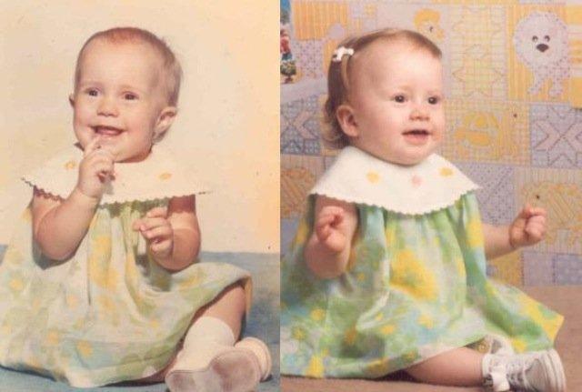 diaforetiko.gr : slide 393894 4815692 free Αμφιβάλετε πως το μήλο πέφτει κάτω από την μηλιά; Δείτε 40 φωτογραφίες γονιών που μοιάζουν σαν δυο σταγόνες νερό με τα παιδιά τους !!!
