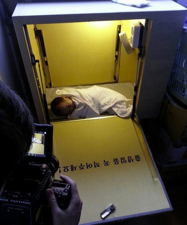 diaforetiko.gr : kouti mwra 4  Υπάρχει ένας άντρας στη Νότια Κορέα που φτιάχνοντας ένα κουτί έσωσε αμέτρητες ζωές παιδιών