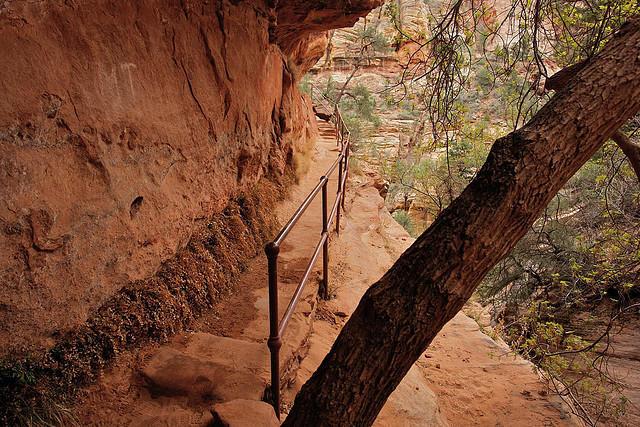 diaforetiko.gr : Zion National Park 12 Ο πιο επικίνδυνος δρόμος του πλανήτη, έχει την πιο εντυπωσιακή θέα