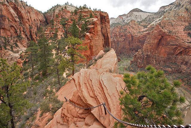 diaforetiko.gr : Zion National Park 9 Ο πιο επικίνδυνος δρόμος του πλανήτη, έχει την πιο εντυπωσιακή θέα