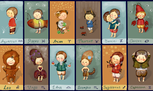 Τα χαρακτηριστικά των ζωδίων με χιούμορ και φαντασία!