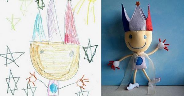 diaforetiko.gr : A0300 600x315 Τους στέλνετε τη ζωγραφιά του παιδιού σας και σας στέλνουν ένα ολόιδιο κουκλάκι!