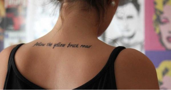 Τα 75 ωραιότερα τατουάζ για κορίτσια