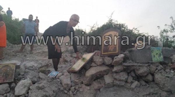 Χειμάρρα: Αλβανοί ισοπέδωσαν τα ξημερώματα τον Άγιο Αθανάσιο