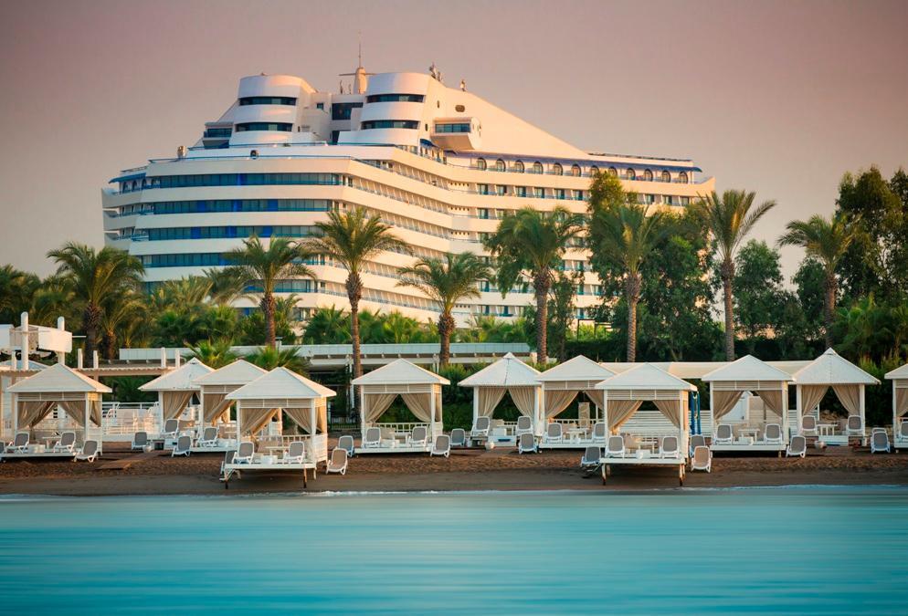 diaforetiko.gr : beach view To πολυτελές ξενοδοχείο στην Τουρκία που έχει την μορφή του… Τιτανικού!
