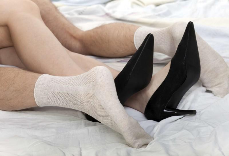 μαύρες κάλτσες σεξ