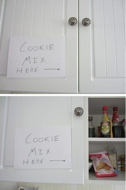 A hint for cookies.