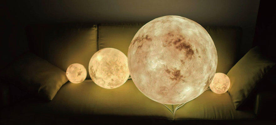 tilestwra.com   Οι λάμπες αυτές φέρνουν το φεγγάρι στο δωμάτιό σας!