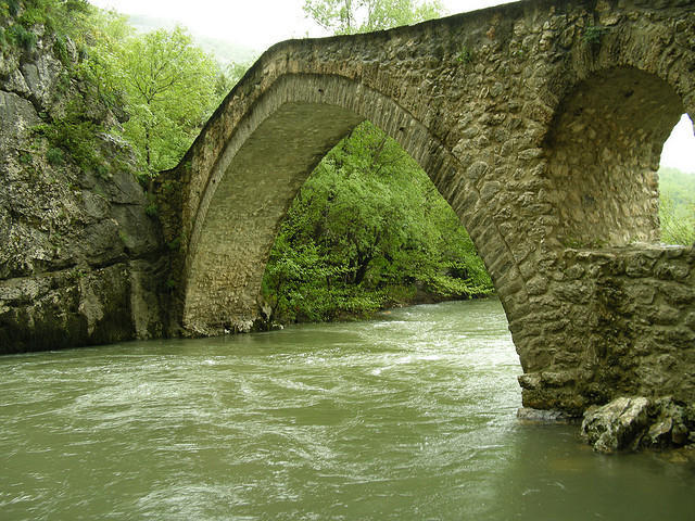 The bridge of Portitsa !!