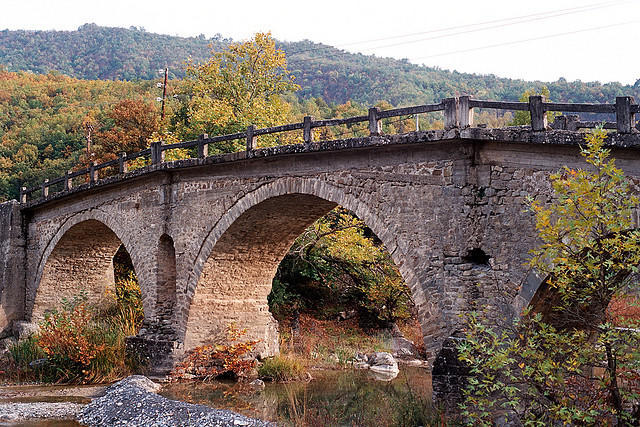 Stavropotamos bridge