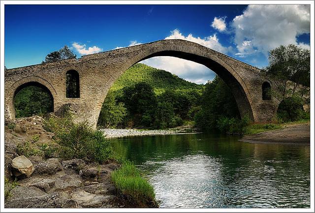 Γεφύρι Τρικώμου (Αζίζ Αγά) - Old stone bridge Trikomou (Aziz Aga)